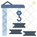 Metal Industrial Construction Icon
