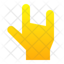Metal Rock Hand Icon