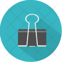 Metal Paperclip Business Icon