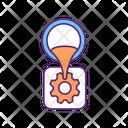 Mechanical Component Machine Icon