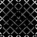 Metal Bending Process Industry Icon