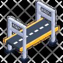 Metal Bridge Icon