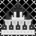 Metal Castle Icon