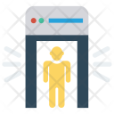 Metal Detector Gate Icon