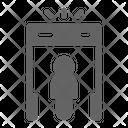 Metal Detector Security Icon