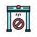 Metal Detector Frame Icon
