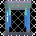 Metal Detector Gate Metal Scanning Gate Gate Icon
