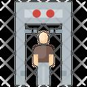 Metal Detector Machine Icon