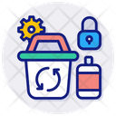Metal Recycle Icon