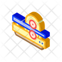 Metal Rolling Isometric Icon
