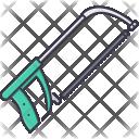 Metal Saw Tool Icon