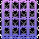 Metal Tile Building Icon