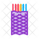Metallic Insulation Shield Icon