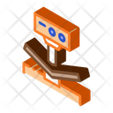 Metallurgical Breaking Tool Icon