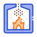 Factory Combustion Process Icon