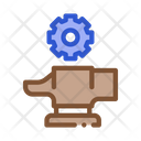 Spare Parts Production Icon