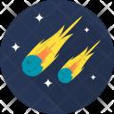 Meteor Space Galaxy Icon