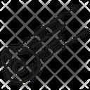 Astronaut Astronomy Meteor Icon