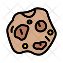 Rock Meteor Space Icon