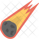 Meteor Falling Asteroid Icon