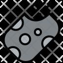 Meteorite Space Universe Icon