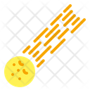 Meteorite Space Asteroid Icon