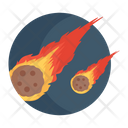 Comet Fireball Asteroid Icon