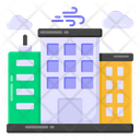 Meteorological Building Icon