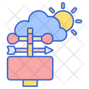 Meteorological Station Weather Station Sensor Icon