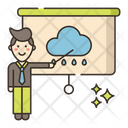 Meteorologist Weather Forecaster Weather Prediction Icon