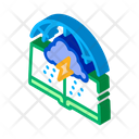 Meteorology Science Education Icon