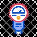 Parking Meter Car Icon