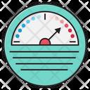Meter Fuel Measure Icon