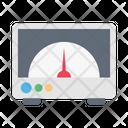 Meter Measure Science Icon