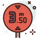 Meter Distance Icon