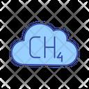 Methane Emission Icon