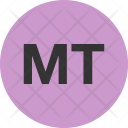 Metical Currency Mzn Icon