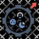 Metric Statistic Portfolio Icon