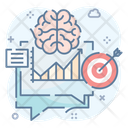 Metric Approximative Brain Target Icon