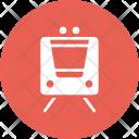 Metro Train Railway Icon