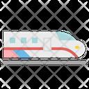 Train Speed Transportation Icon