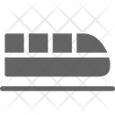 High Speed Train Railway Icon