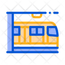 Public Transport Metro Icon