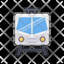 Electric Train Metro Transportation Icon