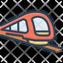 Metro Train Railroad Icon
