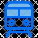 Metro Train Subway Icon