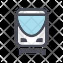 Metro Train Fast Train Railway Icon