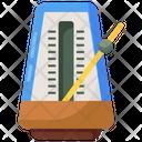 Metronome Chronometer Timekeeper Icon