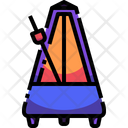 Metronome Music Audio Icon
