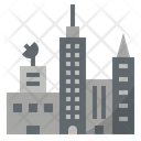 Metropolitan City Globalization Icon